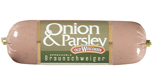 Onion & Parsley Braunschweiger