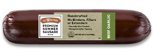 Beef Garlic Summer Sausage