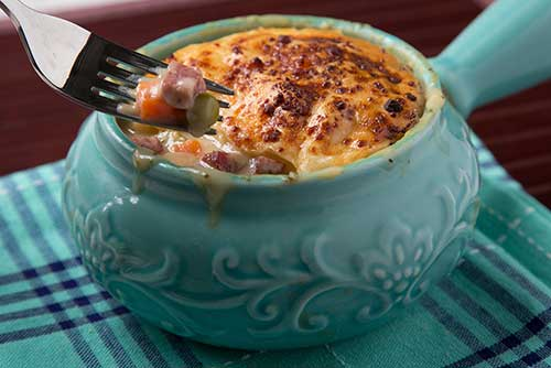 Summer Sausage Pot Pie
